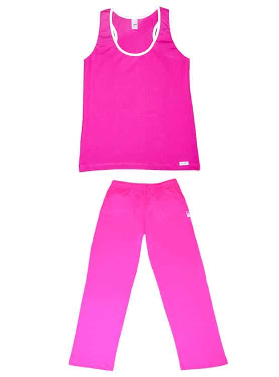 Pijama Mujer Veraniego Largo - M9 NN2 FC S 1 - Sydney