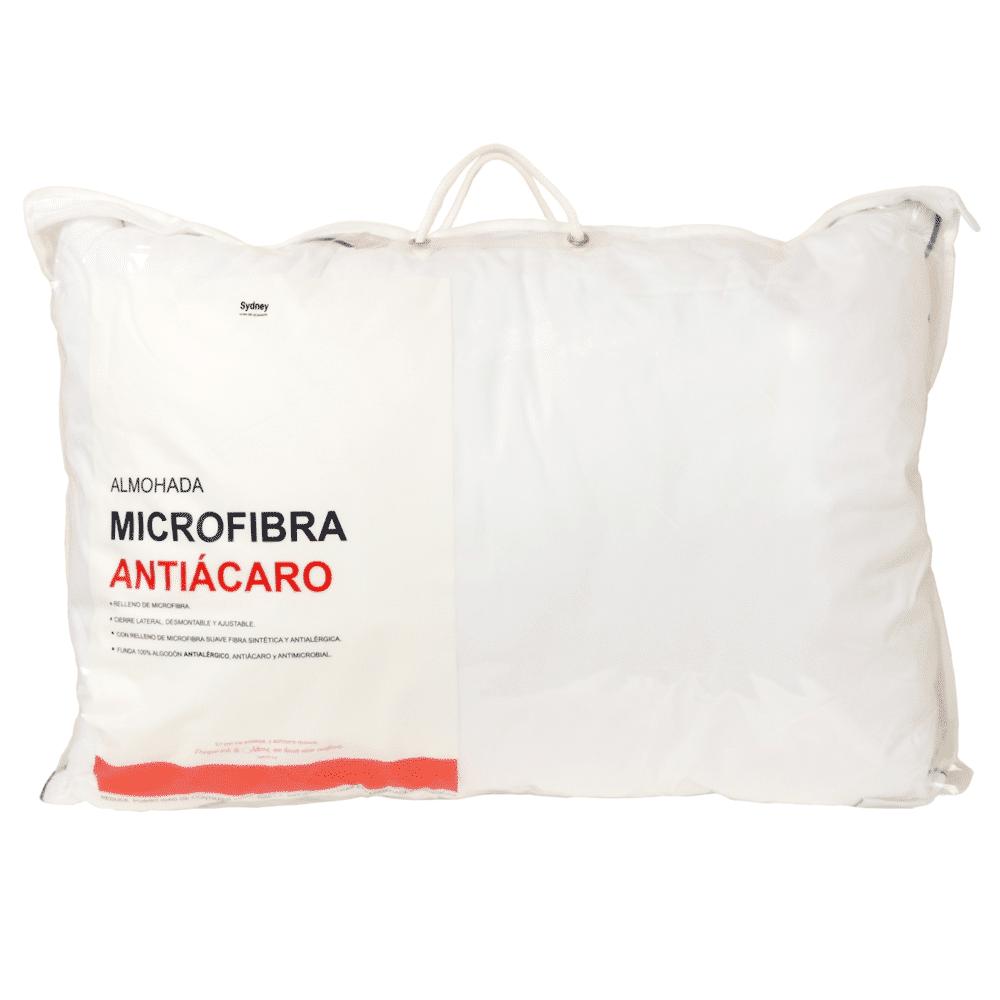 Almohada Microfibra Antiácaro y Antialérgica 50x70 - Z30 - Sydney