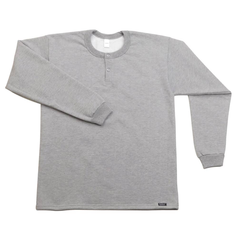 Camiseta Manga Larga Afranelada - X2 melange - Sydney